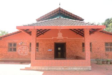 Front view of Barekal Farmstay