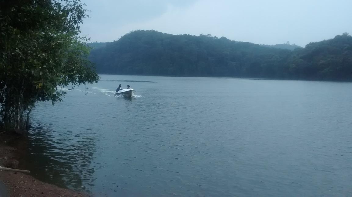 Boating at Billusagara (SharavathiRiver)