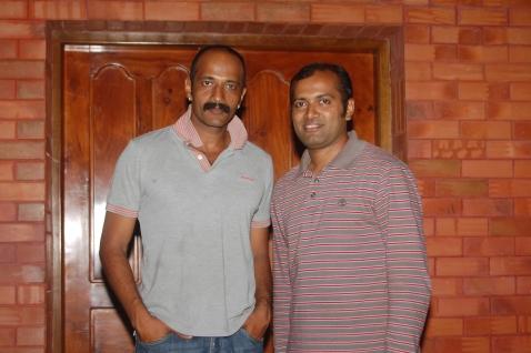 With Kishore, Kannada, Telugu, Tamil Filmstar